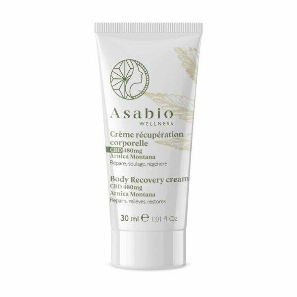 Crème récupération corporelle au CBD Asabio pas cher