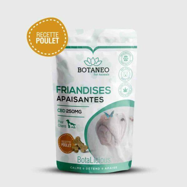Friandis au CBD pour chien de Botalicious Botaneo au Poulet pas cher