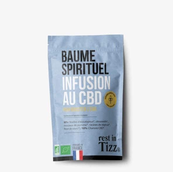 Infusion bio au CBD Baume Spirituel Rest In Tizz pas cher