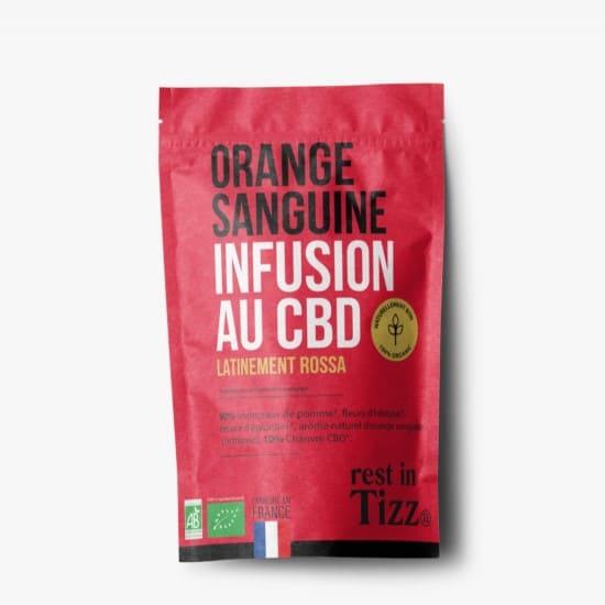 Infusion bio au CBD Orange Sanguine Rest In Tizz pas cher