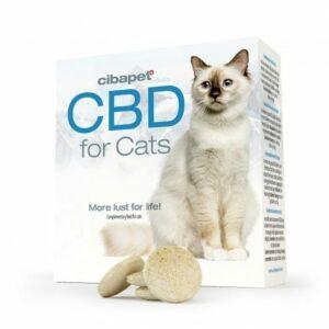 Pastilles au CBD pour chats de Cibapet Cibdol pas cher