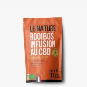 Rooibos bio infusion au CBD Le Nature Rest In Tizz pas cher